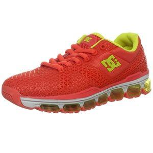 DC PSI Flex air cushion running shoes neon color